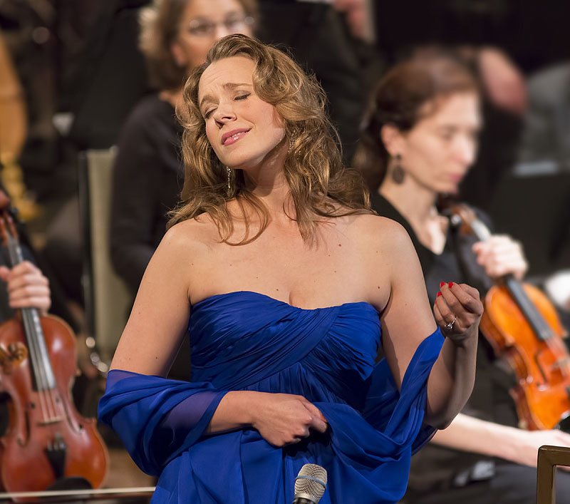 """""""When I first heard 'Ave Maria' pouring over me from a choir loft, I knew that I was meant to sing,"""" says Suzanne Nance, who will perform next month in Lewiston."""