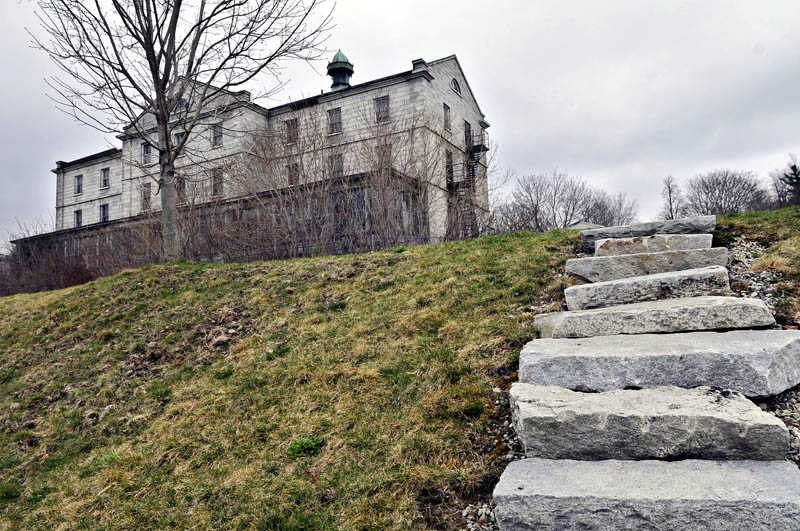 The state Attorney General's office has filed a court complaint against would-be developer Tom Niemann because the owner of the historic Kennebec Arsenal property in Augusta — seen on Wednesday — has failed to make major improvements to it after five years.