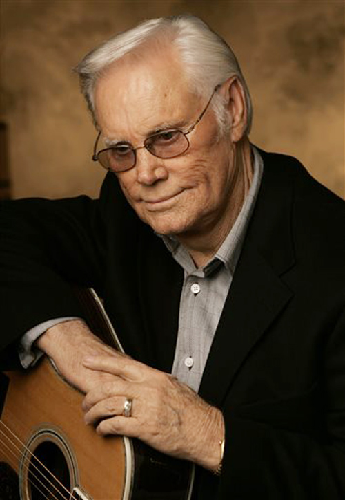 George Jones is shown here in a 2007 photo. His hits included the sentimental