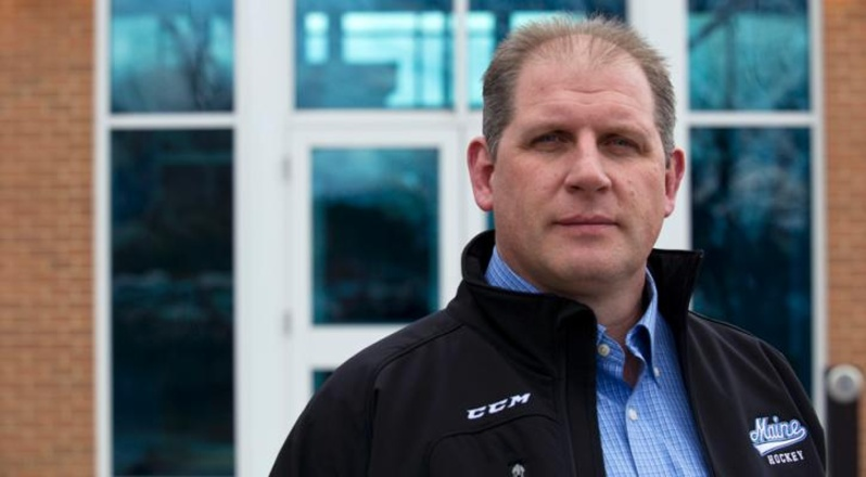 Bob Corkum has been named interim head hockey coach at the University of Maine.