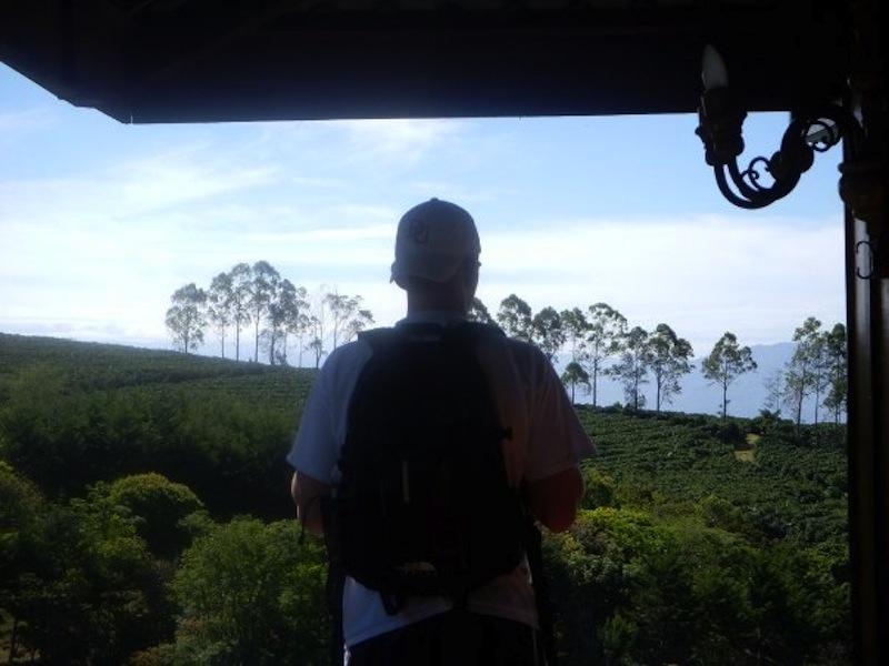 Mr. Merritt on a senior-class trip to Costa Rica.