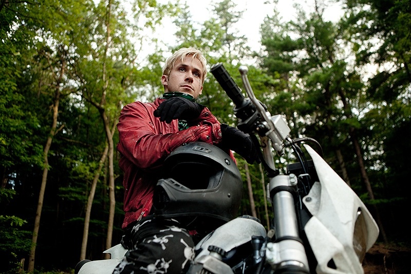 """Ryan Gosling is a motorcyle stunt rider who turns to robbing banks to support his family in """"The Place Beyond the Pines."""""""