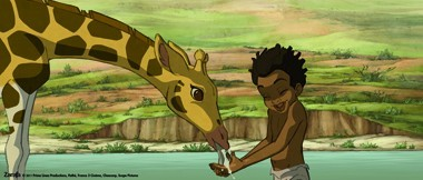 "The animated ""Zarafa"" is about the friendship between a boy and a giraffe."