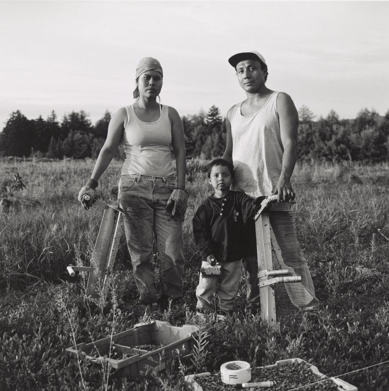 """Javier and Family,"" circa 2002, gelatin silver print."