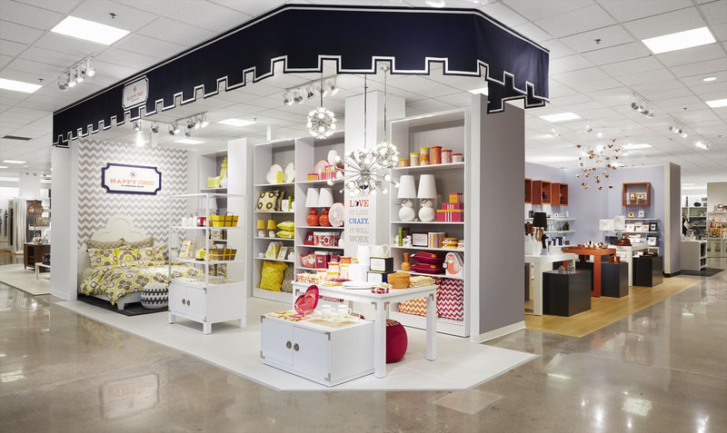 An image provided by J.C. Penney shows a design for a new Jonathan Adler section in the home area of the department store chain. A new home section is set to be unveiled Friday.