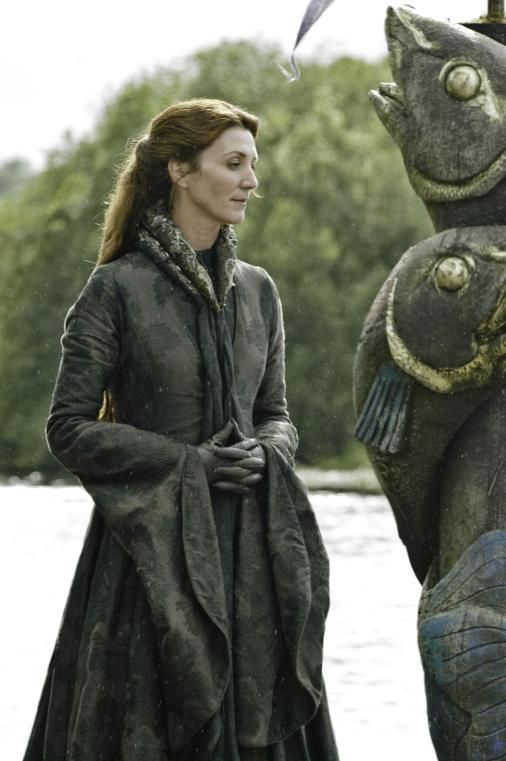 Michelle Fairley plays House Stark matriarch Catelyn Stark in