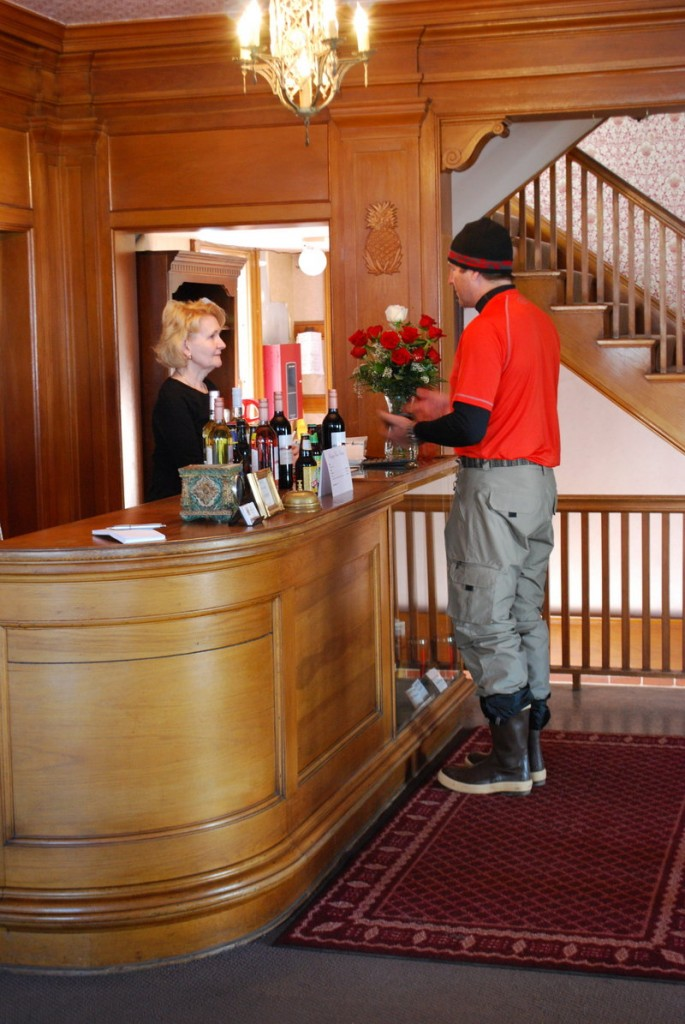 Dawn Sova manages the Herbert Hotel, and also her nerves quite well given she is a permanent resident in the old building that is believed to be haunted.
