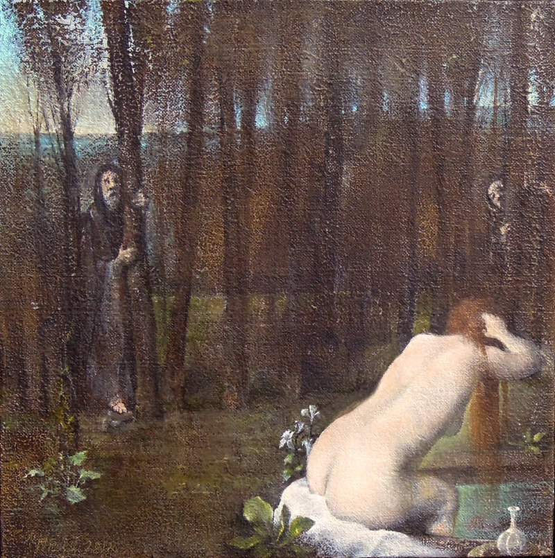 """Susanna at the Baths"" by Joseph Nicoletti ""from ""Go Figure"""