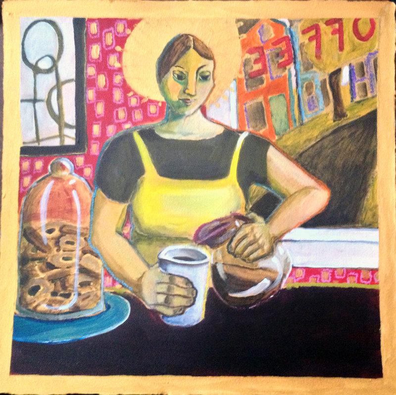 """Santa Barista"" by Alison Goodwin from ""Go Figure"""