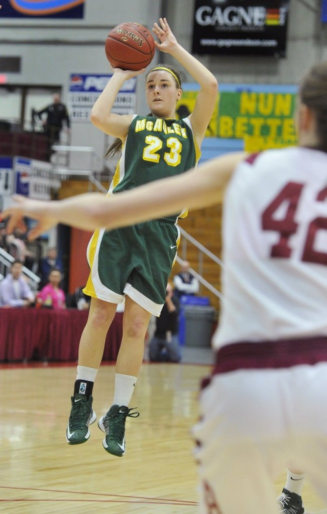 Allie Clement, still just a junior, led McAuley to its third straight Class A state championship, and already is planning with teammates to give a good run at four in a row.