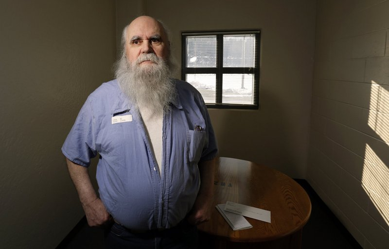 Albert Paul, photographed Jan. 18 at the Maine State Prison in Warren, will turn 80 in June. He's been in and out of prison – mostly in – since he was 18 and likely will die there, having been sentenced to life for killing a South Portland woman in 1971.