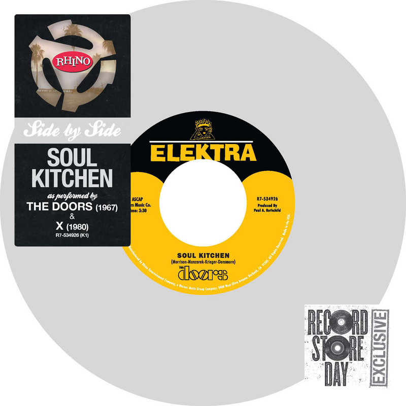 The limited edition Doors single for Record Store Day.