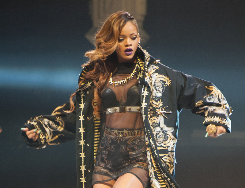 Rihanna will perform at TD Garden in Boston on May 6.
