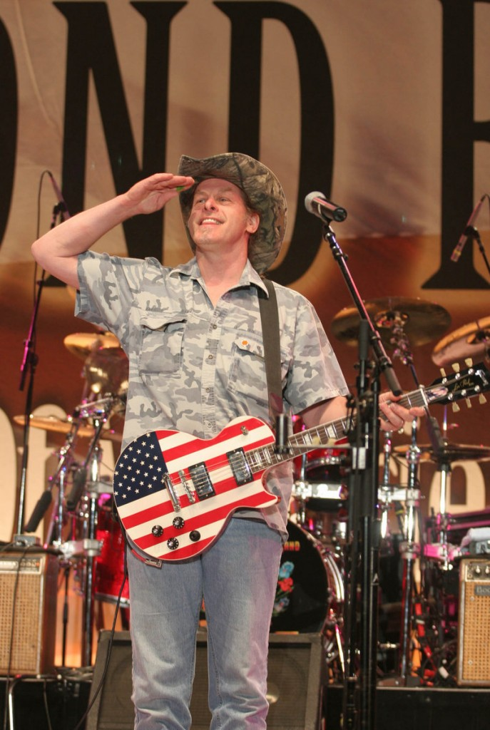 "Ted Nugent, guitarist and gun rights supporter: ""I virtually crush my haters with glowing aplomb ..."""