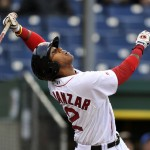 Michael Almanzar may be just 22, but he signed his first pro contract at age 16 and had to undergo struggles before starting to realize his vast potential with the Sea Dogs.