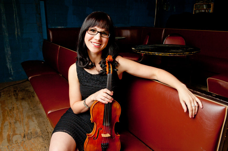 April Verch and her band – Cody Walters on upright bass and banjo and Hayes Griffin on guitar – will play a show at Jonathan's in Ogunquit on Friday and another at Stone Mountain Arts Center in Brownfield on Saturday.