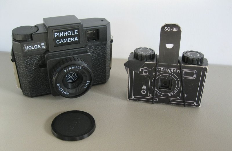 """Taking pinhole images requires patience, but that's not necessarily a bad thing. """"It makes you take time to get out and look at your world and really pay attention to the image,"""" says Johanna Moore, a longtime pinhole camera enthusiast and an organizer of the Maine events for Worldwide Pinhole Photography Day."""