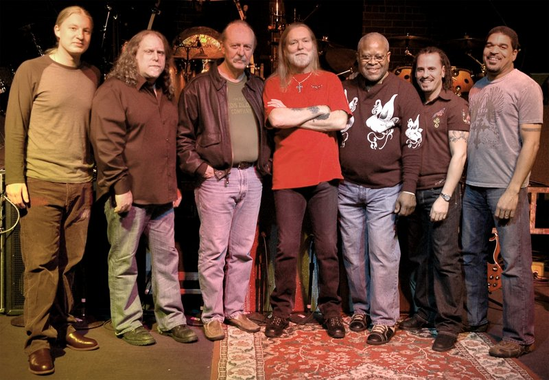 The Allman Brothers Band, above, with Steve Winwood, below, are coming to Meadowbrook in Gilford, N.H., Aug. 27. Tickets go on sale Friday.