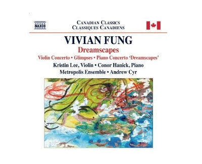 Vivian Fung won a Juno Award for her violin concerto, which Andrew Cyr recorded with the Metropolis Ensemble and released last fall.
