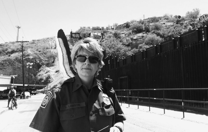 Leslie Lawson is the patrol agent in charge of the U.S. Border Patrol's Nogales, Ariz., station. There were 357,000 people apprehended last year, down from 1.68 million in 2000.