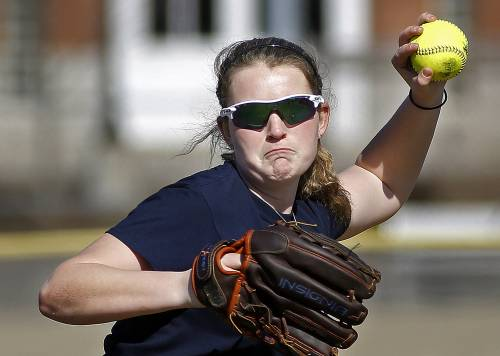 Alyssa Williamson, who went 5-0 last season with an 0.23 ERA, will anchor the pitching staff this season for Scarborough, which, as usual, will have pitching depth.