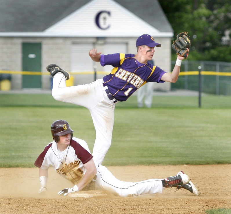 Mitchell Powers seems to have overcome last year's elbow problems and that's good news for Cheverus. Baseball