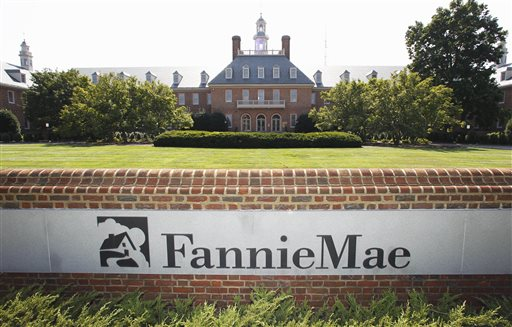 A better housing market means fewer delinquent loans on Fannie Mae's books. Photo shows Fannie Mae's headquarters in Washington, D.C.