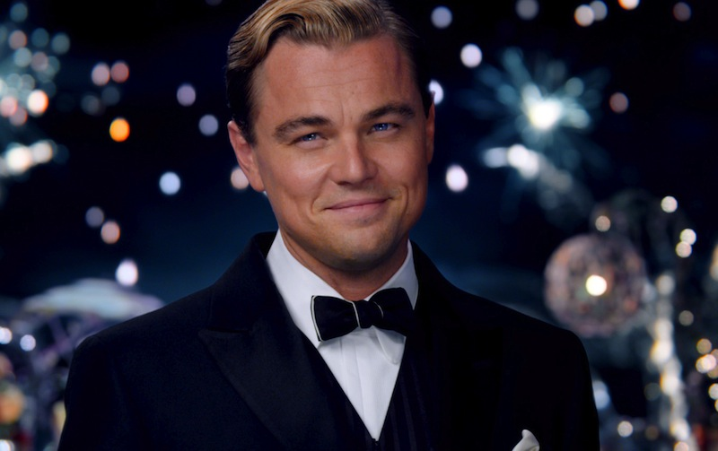 This film publicity image released by Warner Bros. Pictures shows Leonardo DiCaprio as Jay Gatsby in a scene from