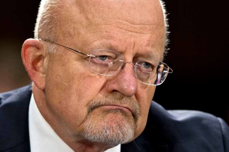 In this April 18, 2013, file photo, National Intelligence Director James R. Clapper testifies on Capitol Hill in Washington. North Korea