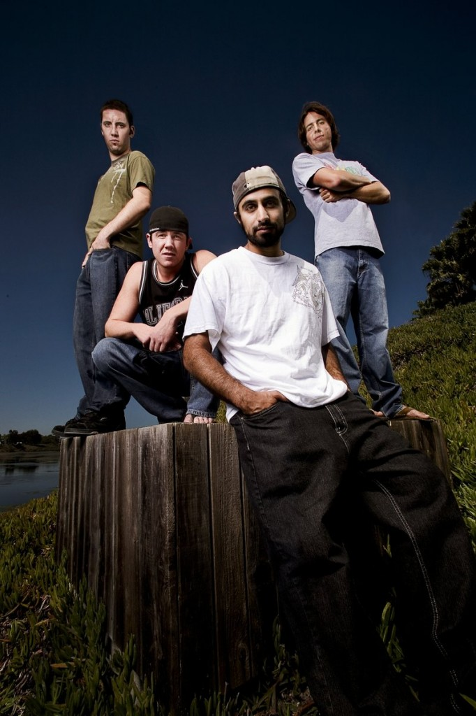 Rebelution is composed of singer/guitarist Eric Rachmany, keyboardist Ron Carey, drummer Wesley Finley and bassist Marley D. Williams.
