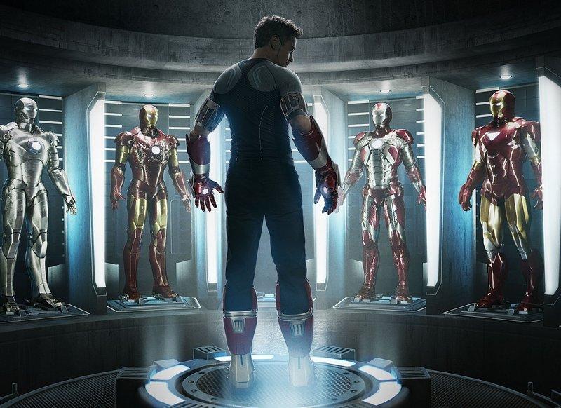 "Robert Downey Jr. in ""Iron Man 3"""