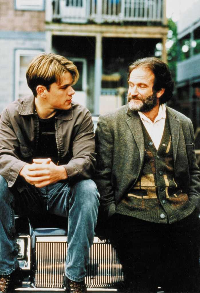 """Bender has producing credits on """"Good Will Hunting"""" (with Matt Damon and Robin Williams)."""