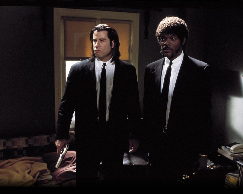 """Lawrence Bender has producing credits on the Quentin Tarantino film """"Pulp Fiction"""" (with John Travolta and Samuel L. Jackson)."""