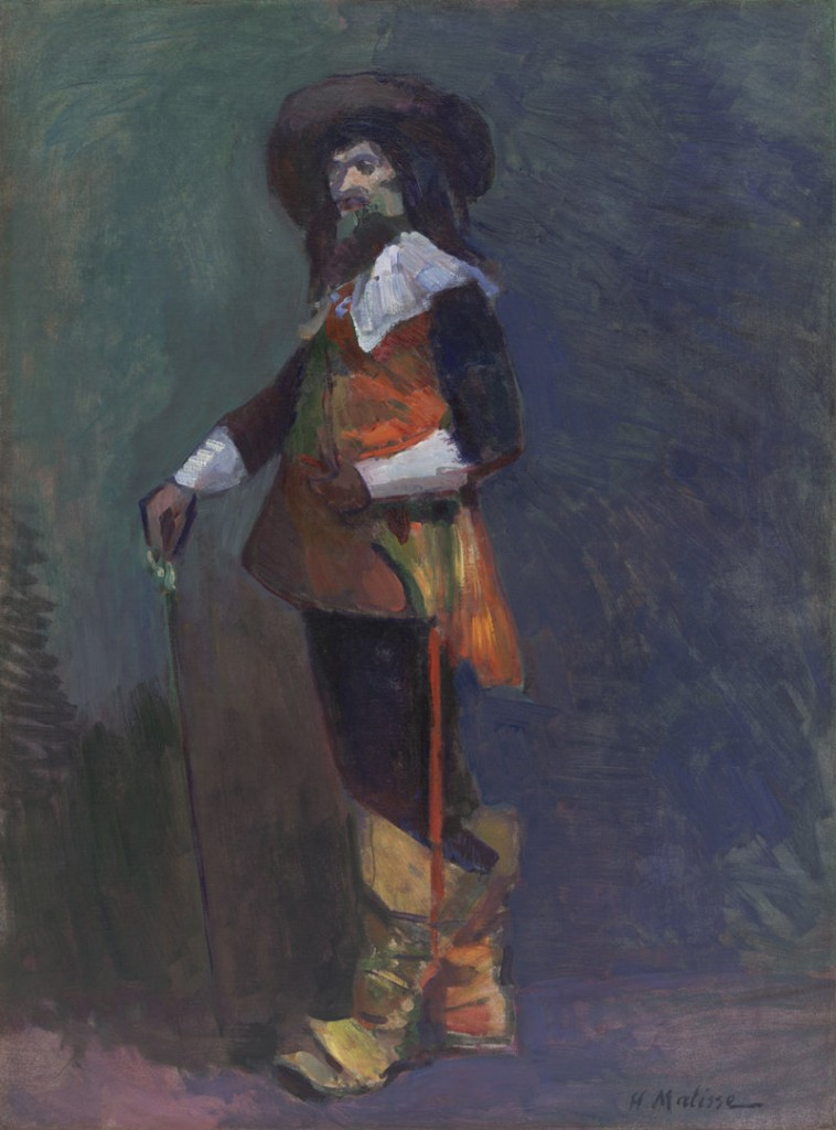 """""""The Musketeer,"""" oil on canvas by Henri Matisse, 1903"""