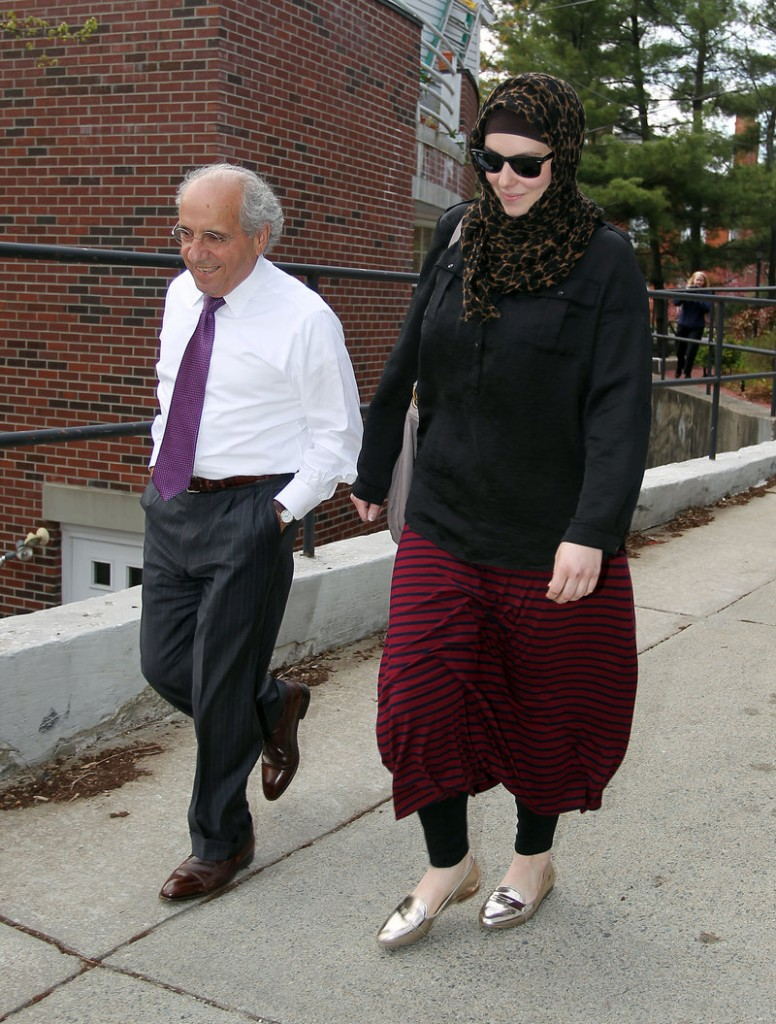 Katherine Russell is facing questions from investigators after an English language magazine produced by al-Qaida was found on her computer.