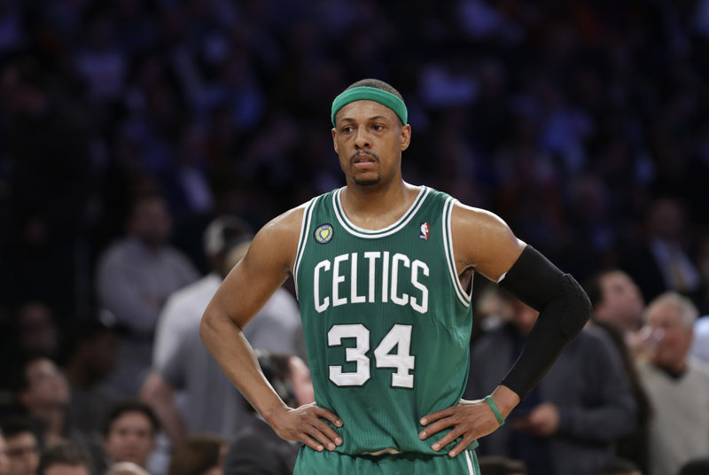 Paul Pierce has been one of the all-time greats for the Boston Celtics, but he'll be 36 when next season starts and may not want to undergo another team reconstruction.