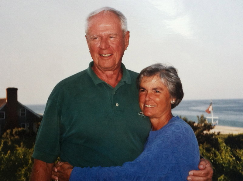 """Dr. Howard """"Randy"""" Deming taught his wife, Ann, to golf, and they participated in tournaments along the East Coast."""
