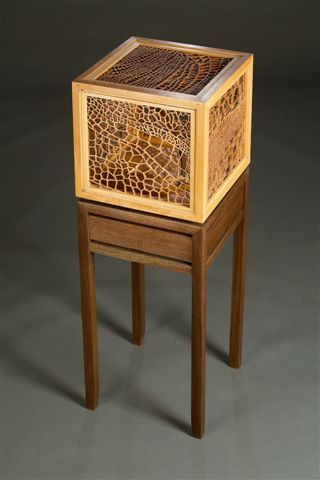 Cabinetry by Center for Furniture Craftsmanship student Jon Reif.