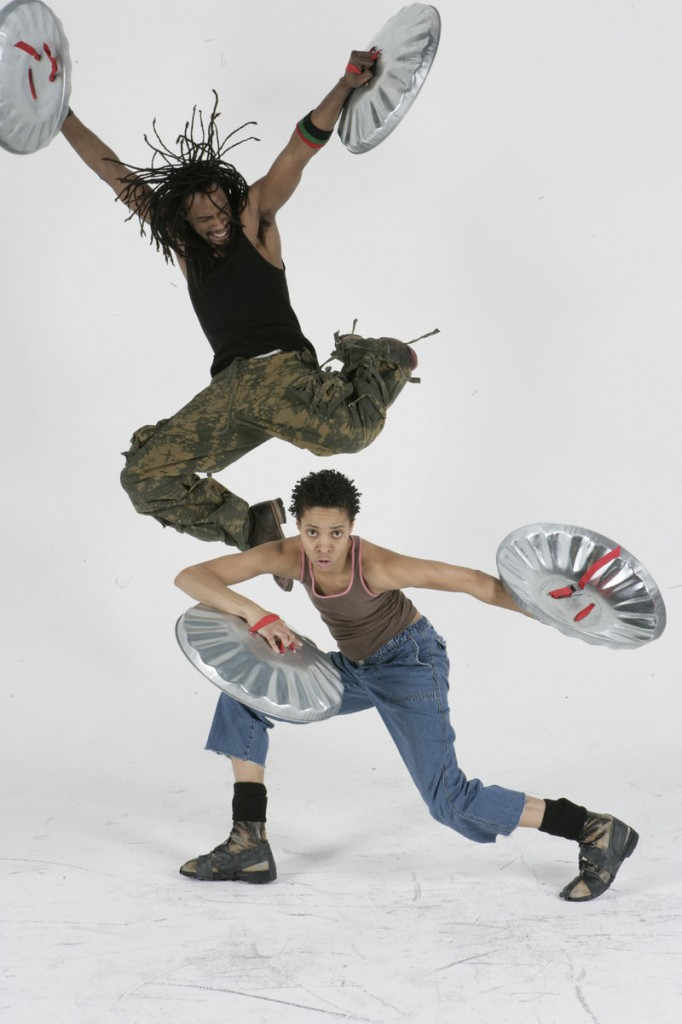 """The national tour of """"Stomp!"""", the ground-breaking percussion extravaganza, comes to Merrill Auditorium in Portland for two performances, Wednesday and Thursday, sponsored by Portland Ovations."""