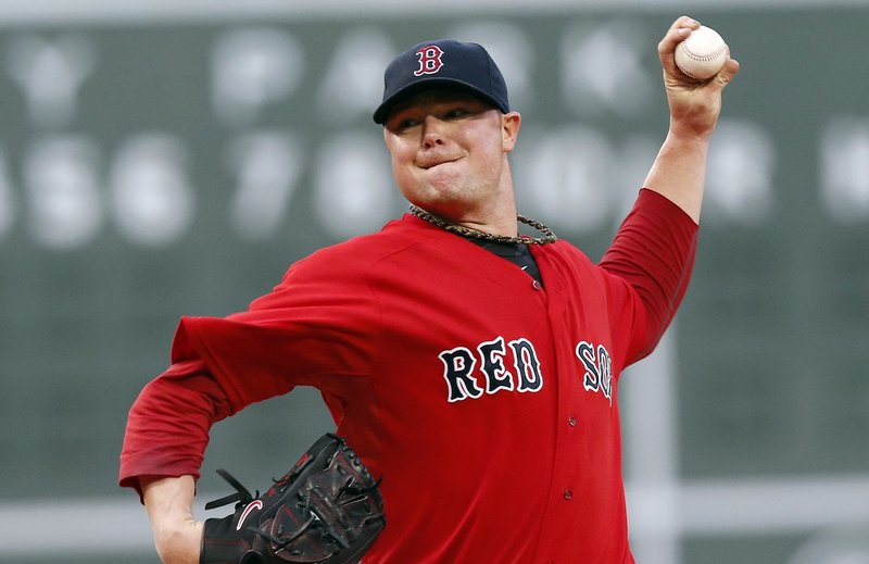 Jon Lester is in vintage form Friday night, stopping a Red Sox slide with a one-hitter against the Toronto Blue Jays.