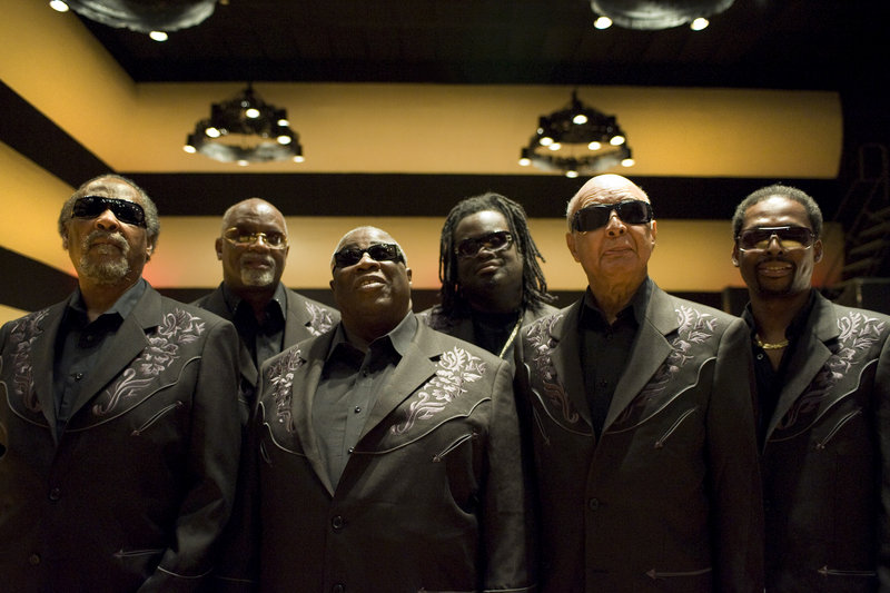 Gospel and R&B stalwarts Blind Boys of Alabama visit Stone Mountain Arts Center in Brownfield on Wednesday.