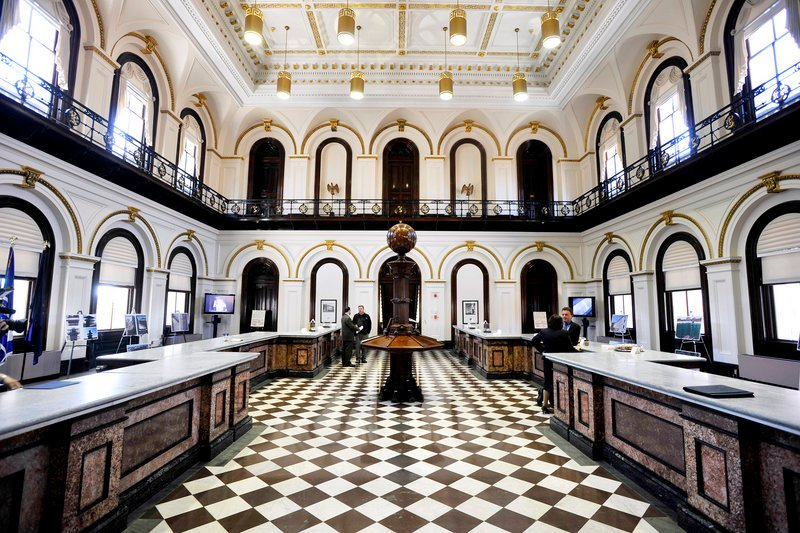 The U.S. Custom House in Portland held an open house Thursday following an extensive renovation. The public will now have limited access to the building, which had been closed to the public for security reasons since the September 2001 terrorist attacks.