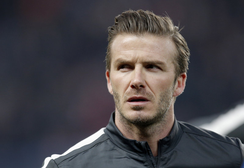 David Beckham will retire after his last two games with Paris Saint-Germain. Beckham, 38, made 115 appearances with England's national team, a record for non-goalkeepers.