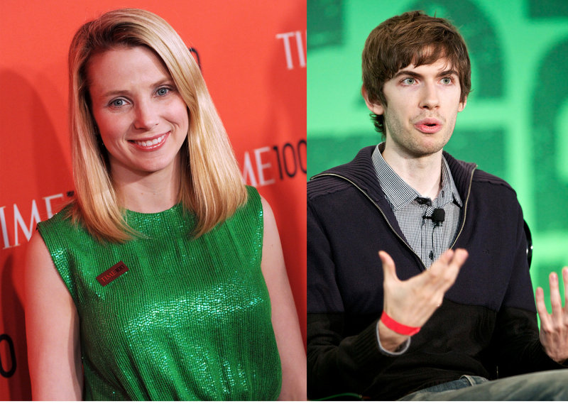 Yahoo CEO Marissa Mayer has high praise for Tumblr founder David Karp. She hopes the acquisition will hasten Yahoo's turnaround.