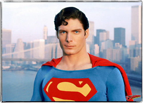 Christopher Reeve donned the cape in 1978's