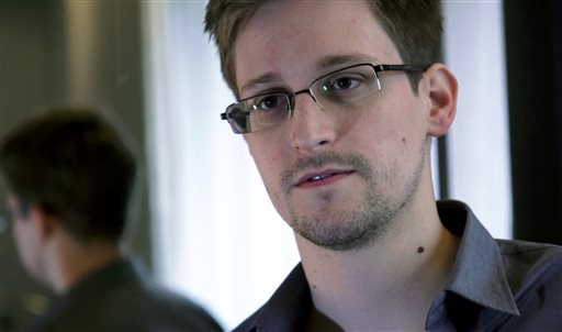 This photo provided by The Guardian Newspaper in London shows Edward Snowden, who worked as a contract employee at the National Security Agency, on Sunday in Hong Kong. The Guardian identified Snowden as a source for its reports on intelligence programs after he asked the newspaper to do so on Sunday.