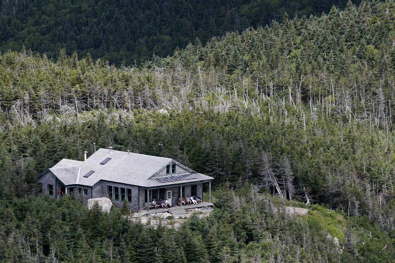 The Appalachian Mountain Club is celebrating its 125th anniversary as the nation's oldest system of mountain huts, including the Galehead Hut near Mt. Garfield in Franconia, N.H.