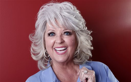 Celebrity chef Paula Deen posing for a portrait in New York in January 2012. Paula Deen lost another part of her empire Monday, when Smithfield Foods said it was dropping her as a spokeswoman. (AP Photo/Carlo Allegri, File)
