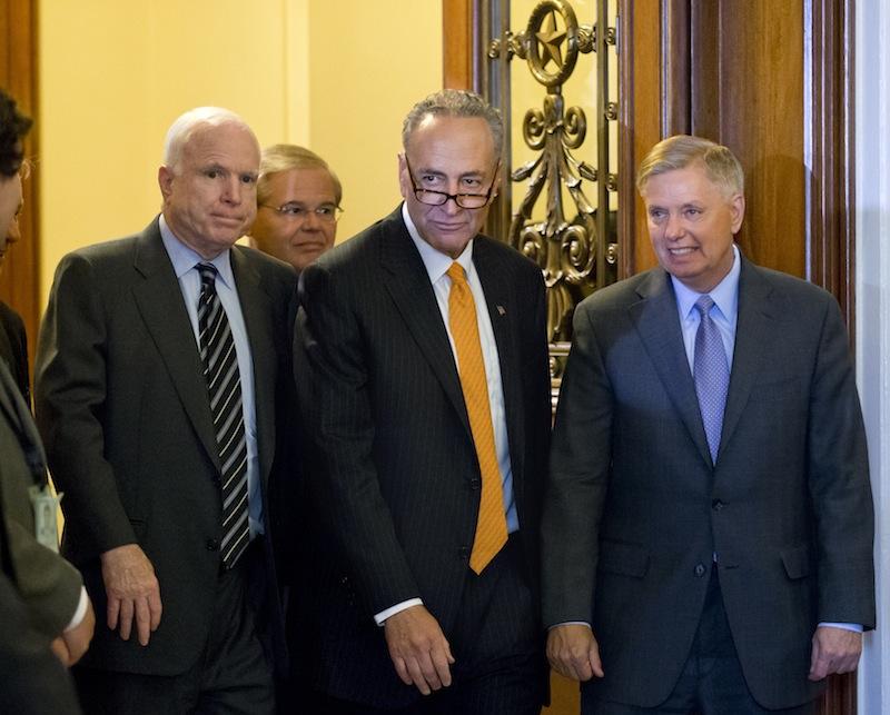 Members of the bipartisan