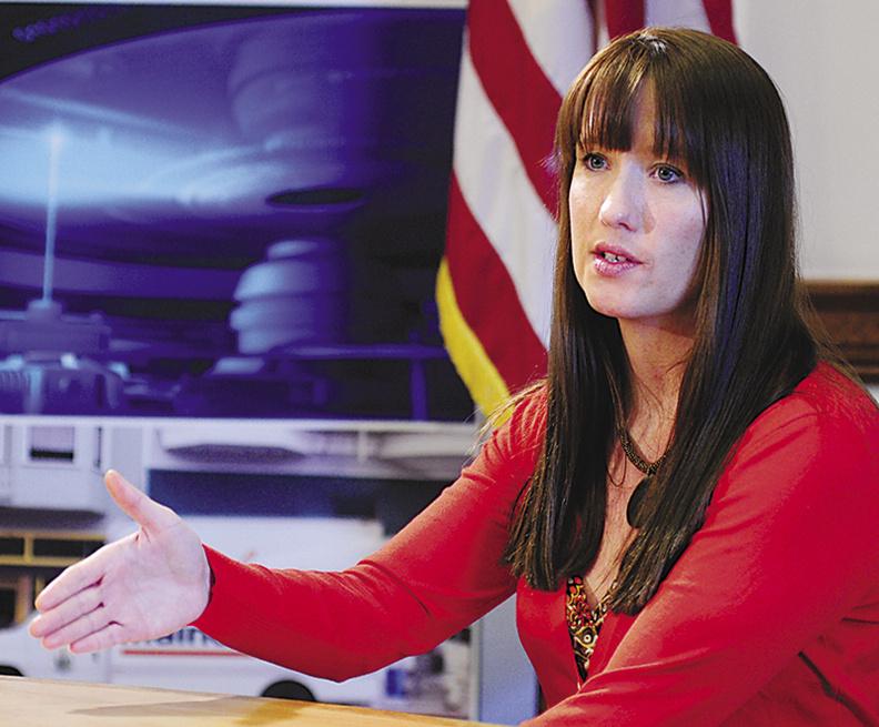Adrienne Bennett, the governor's spokeswoman